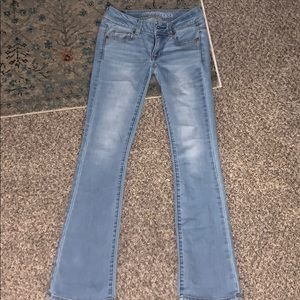 AE kick boot cut jeans